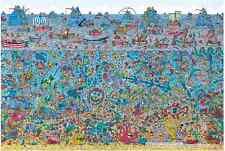 "Jigsaw Puzzles 2000 Pieces [Small Pcs] ""Where's Wally?"" : Deep Sea"""