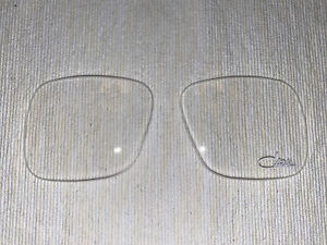 Cazal 607 Clear Replacement Lenses (Pair)