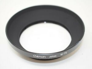 Canon W-75 Metal Hood for 24-50mm Breechlock Lens