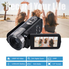 3 Inch Screen Full HD 1080P 24MP 16X Digital Zoom Video DV Camera Camcorder F9M8