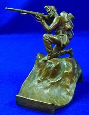 German Germany Austrian Austria Ww1 Bronze Soldier Figurine Statue Sculpture