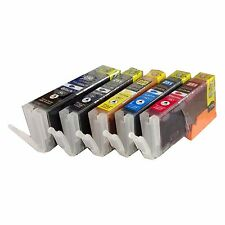 *5 Pk New Canon  PGI-250XL CLI-251XL Compatible Ink  For Pixma MX722 MX922