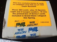 Factory Sealed Box of 1995 Searies II  Baseball Cards