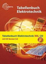 Tabellenbuch Elektrotechnik XXL mit CD von Rudolf Krall, Hans Walter Jöckel, Heinz O. Häberle, Gregor Häberle und Bernd Schiemann (Taschenbuch)