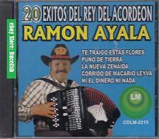 Ramon Ayala 20 Exitos del Rey del Acordeon CD New Nuevo sealed