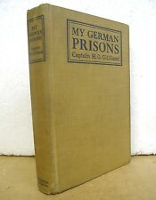 My German Prisons by Captain H.G. Gilliland 1919 Signed First Edition