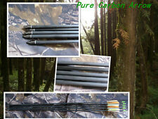 """12)30"""" pure carbon arrow, completed arrow 340 spine,Hunting & practice archery"""