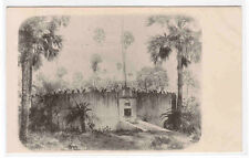 Parsee Tower of Silence Bombay India 1905c postcard