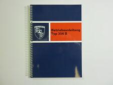 Porsche Type 356 B Manuale di istruzioni manuale istruzioni nuovo