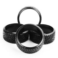 4Pcs RC 1/10 Flat Speed Drift Tires 26mm Hard Tyres For On- Road Racing Car 290