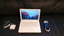 """Apple MacBook White 13"""" MC207ll/A 250GB HDD  2.26GHz 4GB Ram,With Great Screen!"""