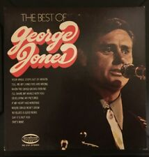 THE BEST OF GEORGE JONES GREATEST HITS STEREO LP MS-3191 VG+/EX Vinyl