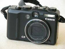 Canon PowerShot G9 12.1MP Digital Camera - Black