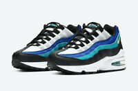 Authentic New Nike Air Max 95 GS ® ( Unisex Kids UK Size 5 & 5.5 ) Oracle Aqua🔥