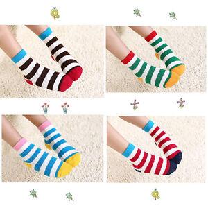 5 Pairs Mixed Color Fashion Boys Girls Kids Toddler Baby Socks SOK07