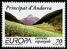 SELLOS TEMA EUROPA 1999 ANDORRA ESPAÑOLA  RESERVAS NATURALES 1v .