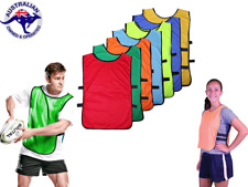 5 X Soccer Rugby Football Basketball Netball Club TRAINING Running Team BIB VEST