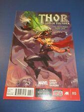 Thor God of Thunder #13 VFNM Beauty Wow Jason Aaron