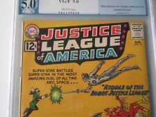 Justice League of America #13 PGX 5.0  White Pages