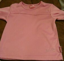 Girls Barbie pink top age 3-4