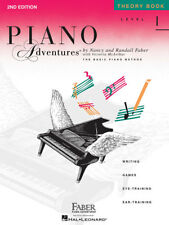 Faber Piano Adventures Level 1 Theory Book 2nd Edition 420172