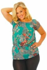Classic Neckline Cap Sleeve Casual Tops & Blouses for Women