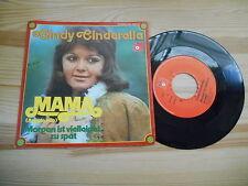 """7"""" Schlager Cindy Cinderella - Mama (Angelo Mio) / Morgen ist vielleicht .. BASF"""