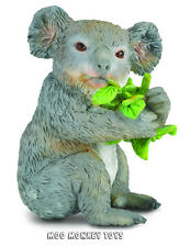 KOALA EATING EUCALYPTUS CollectA # 88357 Australia Wild Animal Replica  NWT