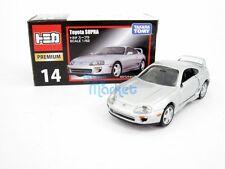 Takara TOMY Tomica Premium 14 Toyota Supra 1/62 Diecast Car Toy LT Grey 7386