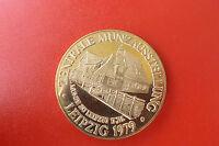 *DDR Medaille 1979 ca.40mm*Münzausstelung Leipzig 1979 (KOF2)