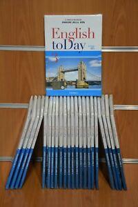 """DVD Corso di Inglese """"English toDay"""" Corriere della Sera Originali"""