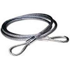 6'VNYLCTD CBLSLING1/4-3/8 7X19 Steel Cable