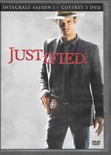 COFFRET 3 DVD ZONE 2--SERIE TV--JUSTIFIED--INTEGRALE SAISON 1