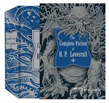The Complete Fiction of H.P. Lovecraft (Knickerbocker Classics) New Hardcover Bo