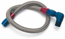 Edelbrock 8123 Fuel Line Braided Stainless for SBC ( use with 8134 )