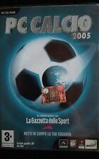 pc calcio 2005 cd italiano usato