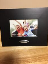 """Hallmark Picture Frame Black Wood with Caption Plate """"Good Times"""" 4x6"""
