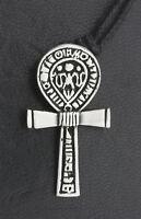 Collar Colgante Cruz De Vida Ankh-Lata-Joyería Egipto Antigua- 26039-E4
