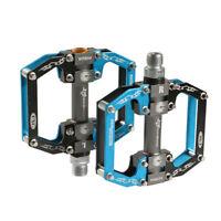 ROCKBROS BMX MTB Road Bike Pedals Aluminum Alloy Sealed Bearing Black Blue