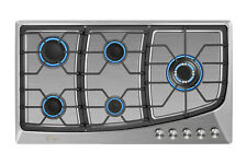 """Empava 36"""" Gas Cooktop 5 Burners Built-in Stove Stainless Steel Ng/Lgp 36Gc901"""