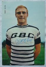 Autographe Rudi TRAITE GBC original signé BERGMEISTER football 1970