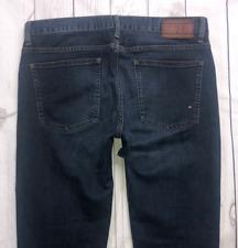 Mens TOMMY HILFIGER Hudson Jeans W32 L34 Blue Straight Fit