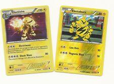 ELECTIVIRE (Holo)+ELECTABUZZ (RH) -2 EVO Boundaries Crossed Pokemon Card- MINT