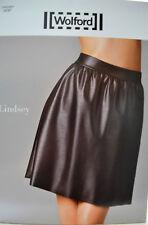 Wolford Lindsey Skirt Rock 38 black schwarz Lederoptik