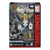 Transformers Generations Studio Series 21 Starscream Robot PVC Action Figure Toy