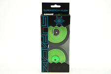 Supacaz Super Sticky Kush Road Bike Handlebar Tape, Star Fade Neon Green/Black