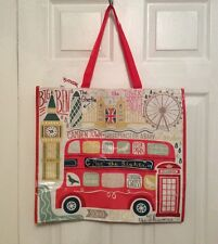 NEW LONDON ENGLAND TJ Maxx Shopping Bag Reusable Eco Friendly Tote BIG BEN