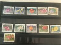 A Collection Of El Salvador Mint Never Hinged Flowers Set 1965 F-15