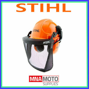 Genuine STIHL FUNCTION  safety Helmet Complete with Earmuffs & Visor Approved
