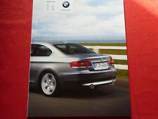 Bmw 3er e92 Coupe 320i 325i 330i 335i 320d 325d 330d 335d folleto de 1/2008